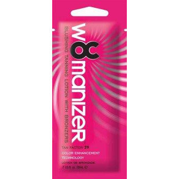 1 packet OC Womanizer Blushing Bronzers Tan Factor 29 .7oz