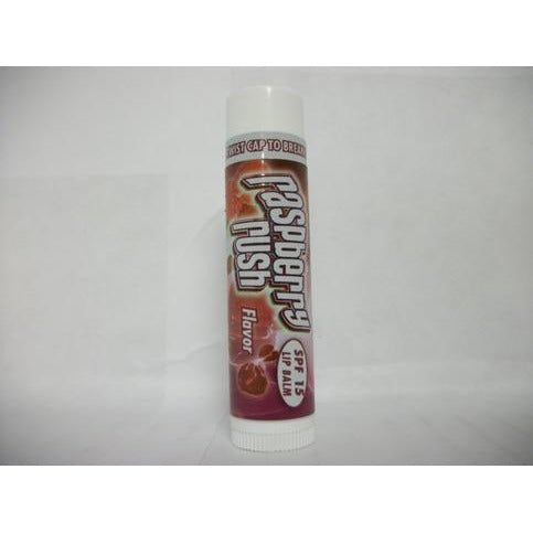 Fruit Splash Raspberry Rush Flavor SPF 15 Lip Balm 0.15oz