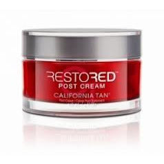 California Tan Restored Post Creme Red Light Therapy 4oz Jar NEW