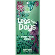 1 packet Hempz Legs For Days DHA Beach Ready Bronzer with Shave Minimizers .57oz