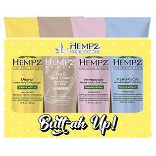 Hempz Butter Up Hand & Foot Butt-ah Up! 4 Piece Gift Set 1.8oz Each - Limited Edition