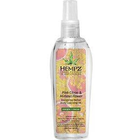 Hempz Pink Citron & Mimosa Flower Body Cleansing Oil 6.7oz