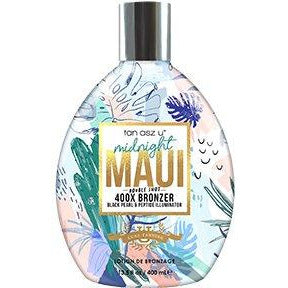 Midnight Maui Double Shot 400X Bronzer Black Pearl & Peptide Illuminator 13.5oz