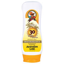 Australian Gold SPF 30 lotion waterproof 8 oz