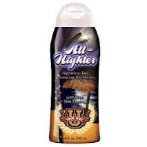 All Nighter Bronze Night Time Tan Enhancer Ultra Skin Firm 8z