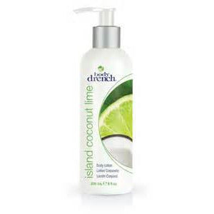 Body Drench Island Coconut Lime Body Lotion 8 oz