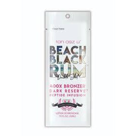 1 packet Beach Black Rum Double Shot 400X Bronzer  .75oz
