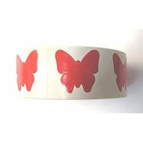 Butterfly Tanning Stickers 1000 ct