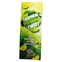 1 packet Tropical Lime Twist Lush Natural Streak Free Bronzers  .75oz