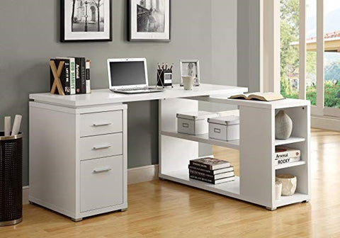 Monarch Specialties Hollow-Core Left or Right Facing Corner Desk