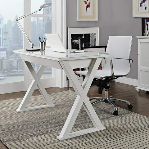 WE Furniture L-Shaped Modern Computer Desk for Home Office