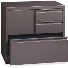 Lorell LLR60934 Personal Storage Center Lateral File, 30""