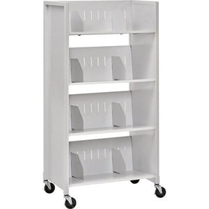 Sandusky Buddy 4-Tier File Folder Cart, Model# 5429-32