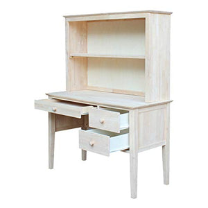 International Concepts K-OF66-65H Desk with Hutch