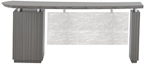 "Mayline STRD66BTDW Sterling Desk, 66"", Textured Driftwood Laminate"