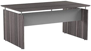 "Safco Products MNDS72LGS Medina Desk, 72"", Gray Steel"