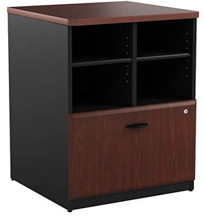 Bush Business Furniture Series A Collection 24W Piler Filer in Hansen Cherry
