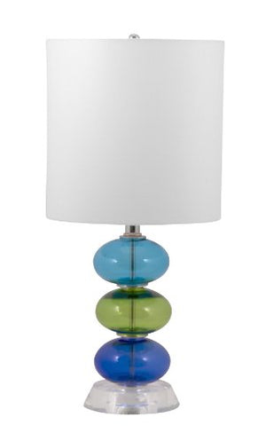"Lamp Works 221 Beaux 3 Table Lamp, 10"" x 10"" x 21"""