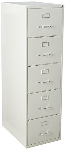 Lorell LLR48502 Commercial Grade Vertical File Cabinet, Light Gray