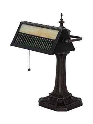 Gothic Mission Banker's Lamp