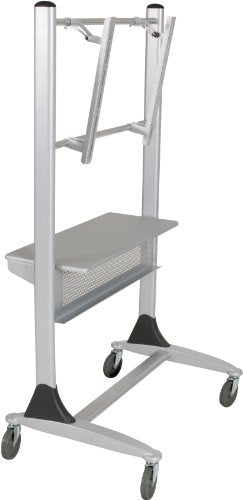 Balt Platinum LCD Cart with Casters, 35-Inch by 25-1/2-Inch by 67-Inch, Silver