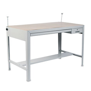 Safco Precision Four-Post Drafting Table Base