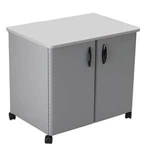 Mayline Steel Utility Cabinets, 30 by 21 by 26-1/2-Inch, Gray/Gray