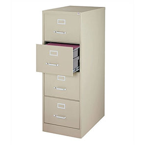 4-Drawer Commercial Legal Size File Cabinet Finish: Putty