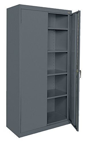 Buddy Products Welded Steel Classic Storage Cabinet, Charcoal (CA41361872-02BP)