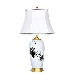505 HZB Chinese Copper Ceramic Lamp Bedside Bedroom Living Room Became Creative Lamps