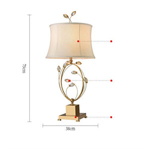 YD Modern New Chinese Classical Crystal Creative Designer Hotel Clubhouse Model Room Living Room Bedroom Bedside Table Lamp /&