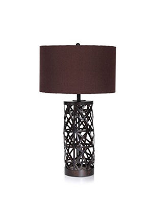 "32"" Tall Table Lamp, Spider Design"