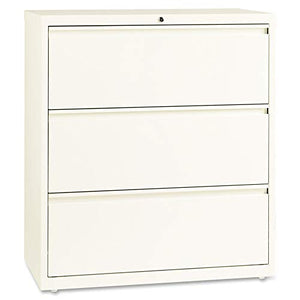 "Lorell 22952 Fortress File Cabinet, 40"" x 36"" x 18"", Cloud"