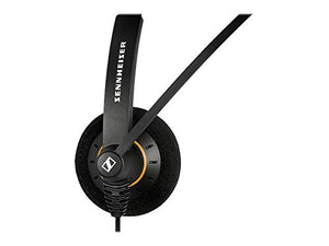 Sennheiser SC 60 USB ML (504547) - Double-Sided Business Headset | For Skype for Business | with HD Sound, Noise-Cancelling Microphone, & USB Connector (Black) (Renewed)