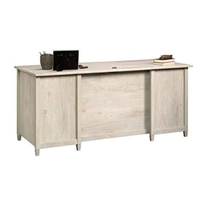 Scranton & Co Executive Desk in Chalked Chestnut