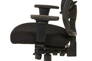 Alera ALEET4117 Etros Series High-Back Multifunction with Seat Slide Chair, Black