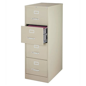 Scranton & Co 4 Drawer Legal File Cabinet in Putty