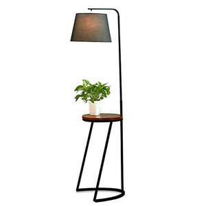 Swei Modern Minimalist Creative LED Floor lamp, Suitable for Bedroom Bedside Study Hotel Lighting Table lamp,Black