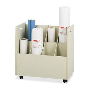 SAF3045 - Safco Laminate Mobile Roll Files