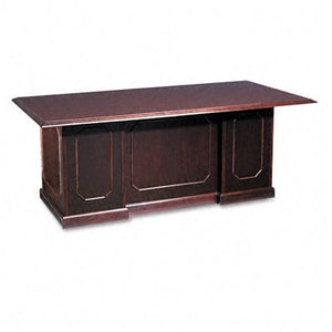 DMI 735036 Governor's Series 72 by 36 by 30-Inch Double Pedestal Desk, Mahogany