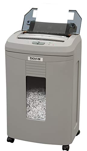 Boxis AF110 AutoShred 110-Sheet Micro Cut Paper Shredder
