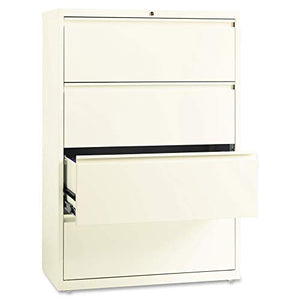 "Lorell 22953 Fortress File Cabinet, 52.5"" x 36"" x 18"", Cloud"