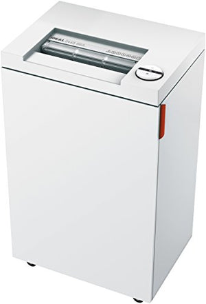 ideal. 2465 Continuous Operation Strip Cut Deskside Paper/CD/DVD Shredder, 19-22 sheet, 9 Gal. Bin, 3/4 HP Motor, P-2 Security Level