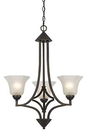 Cal Lighting FX-3551/3 Three Light Chandelier