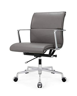 Meelano 347-GRY M347 Home Office Chair, Grey