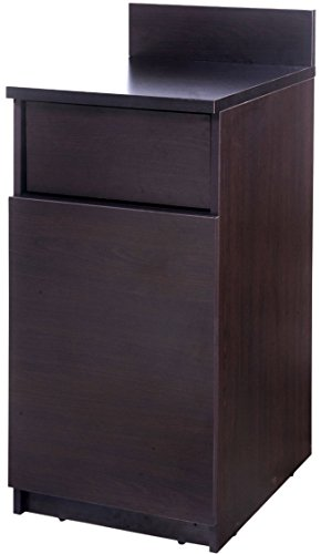 "Breaktime 1 Piece Group Model 2085 Break Room Lunch Room Furniture Cabinet""Ready-To-Install/Ready-To-Use"", Color Espresso"