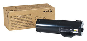 Genuine Xerox Extra High Capacity Black Toner Cartridge for the WorkCentre 3655, 106R02740