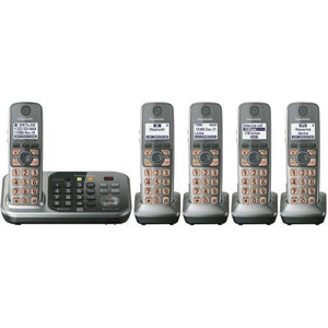 Panasonic KX-TG7745S Link2Cell Bluetooth Cellular Convergence Solution with 5 Handset (Discontinued By Manufacturer)