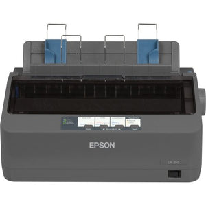Epson C11CC24001 LX-350 Dot Matrix Printer - 9 pin - Up to 347 char/sec - Parallel/Serial/USB