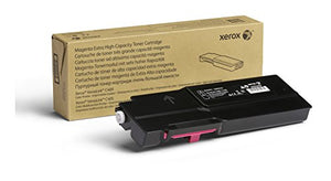 Genuine Xerox Magenta Extra High Capacity Toner Cartridge (106R03527) - 8,000 Pages for use in VersaLink C400/C405